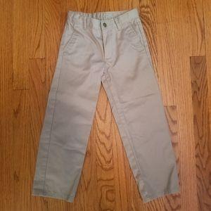 Izod Boy's Chino Khaki Pants